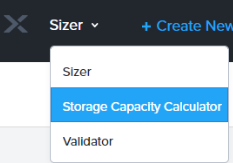 Storage Capacity Calculator