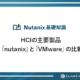 HCIの主要製品「nutanix」と「VMware」の比較